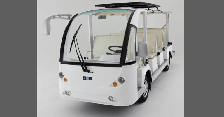 EMC Endeavour Electric Shuttle Bus