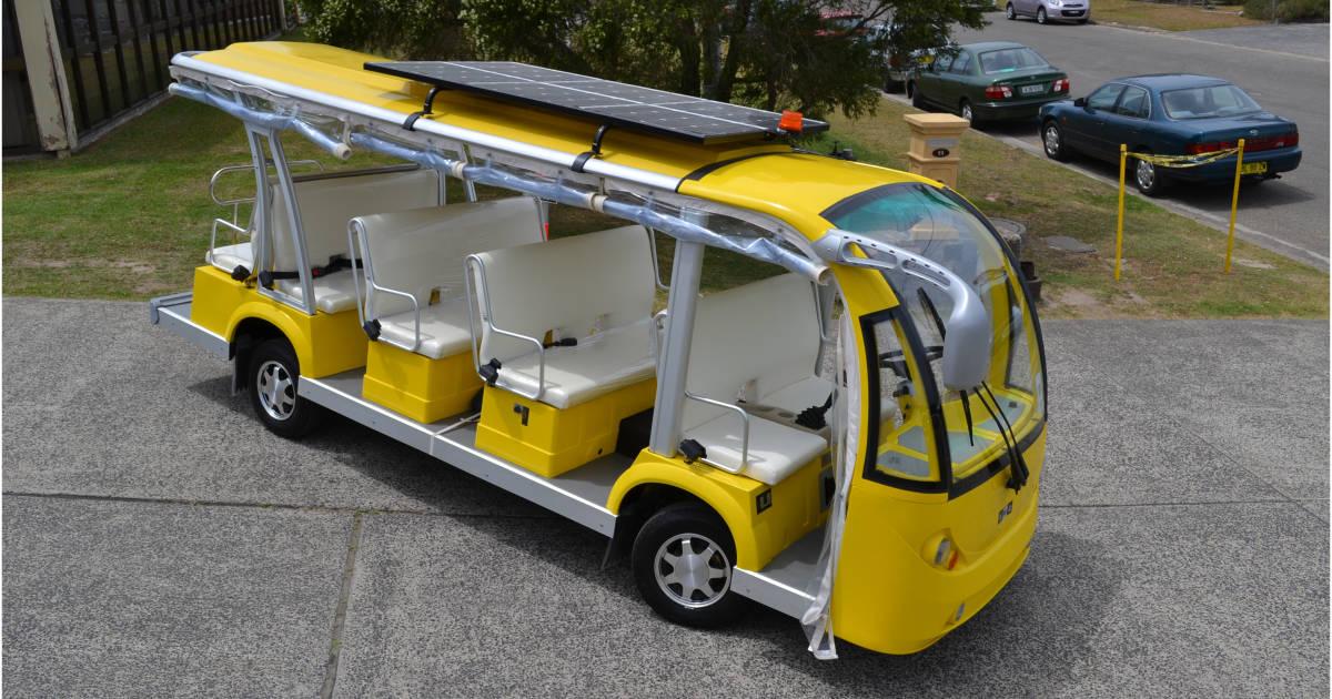 2020 Electric Shuttle Bus
