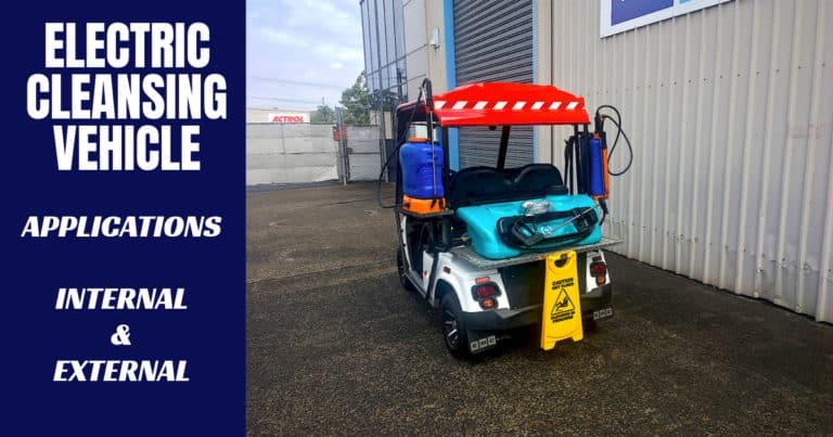 EMC Micro Cleansing Vehicle
